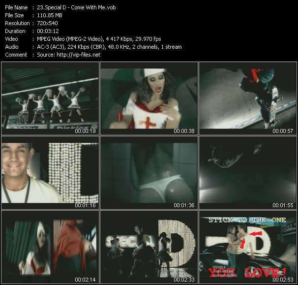Special D video screenshot