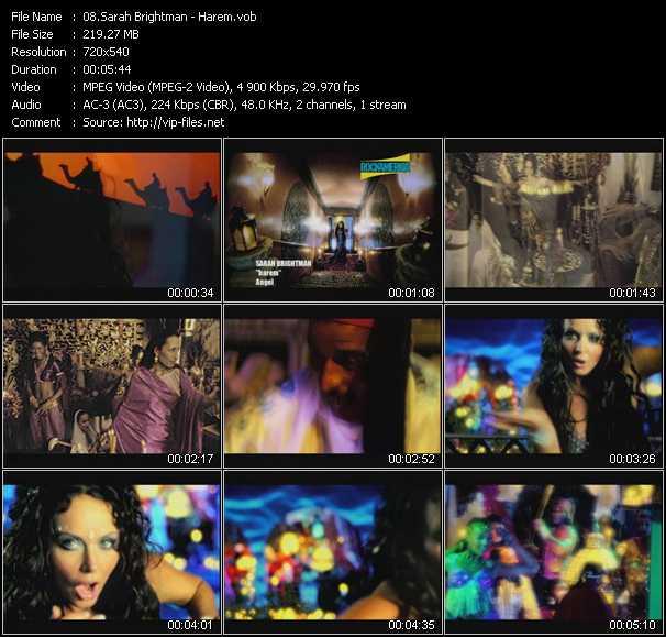 Sarah Brightman video screenshot