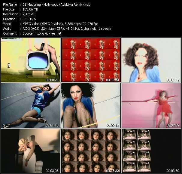 video Hollywood (Aviddiva Remix) screen