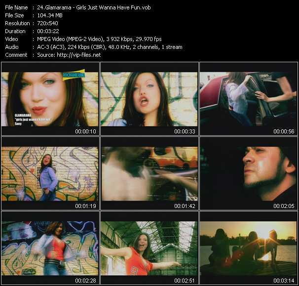 Glamarama video screenshot