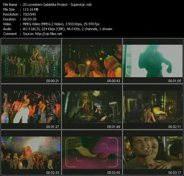 Lovestern Galaktika Project video screenshot