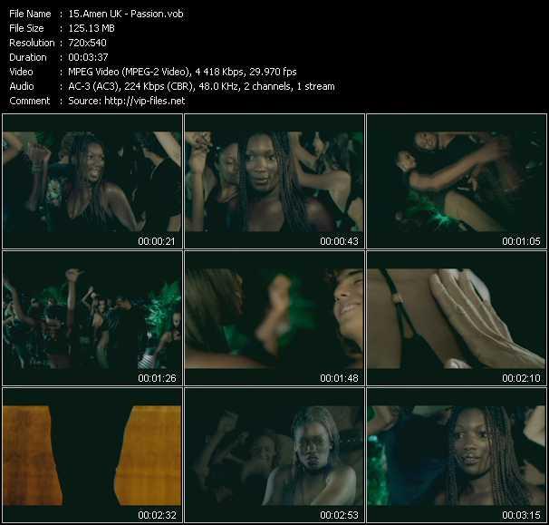 Amen! UK video screenshot