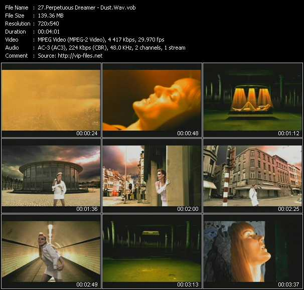 Perpetuous Dreamer video screenshot