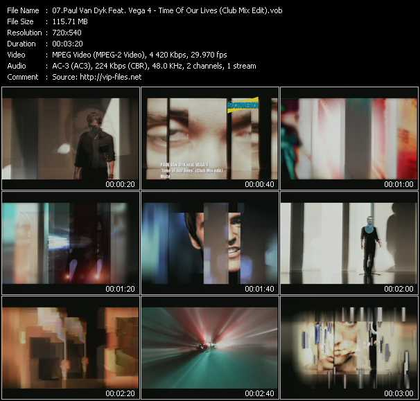 Paul Van Dyk Feat. Vega 4 video screenshot