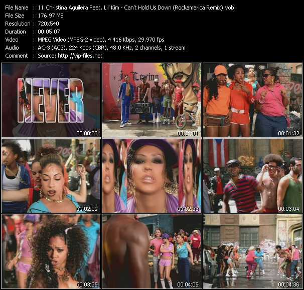 Christina Aguilera Feat. Lil' Kim video screenshot