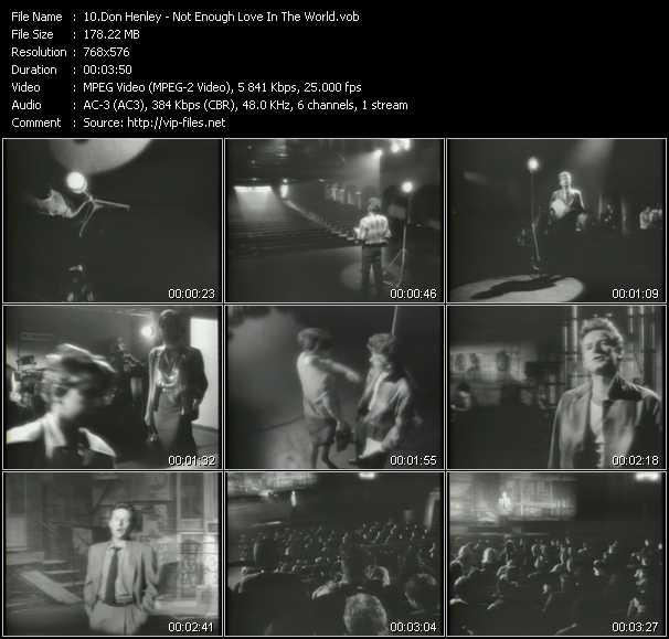 Don Henley video screenshot