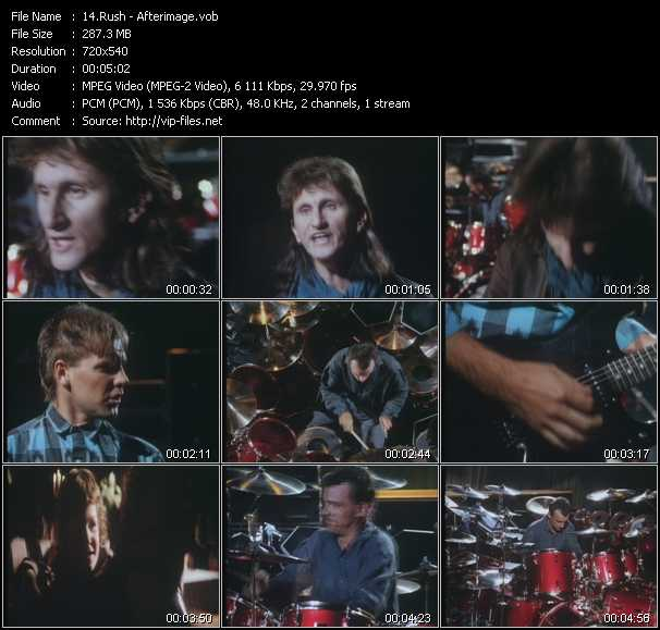 Rush video screenshot