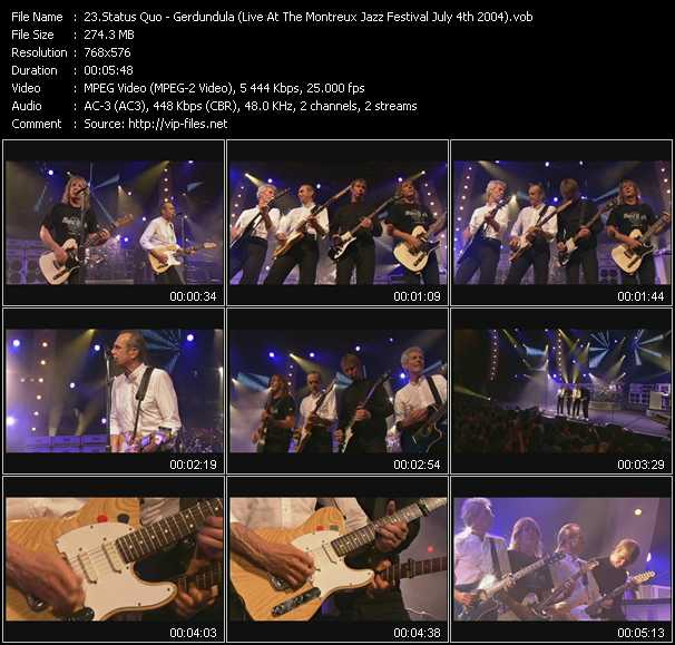 video Gerdundula (Live At The Montreux Jazz Festival July 4th 2004) screen