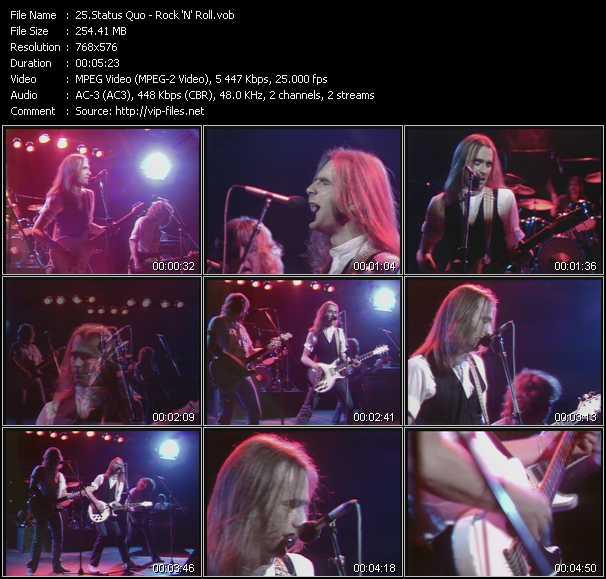 video Rock 'N' Roll screen