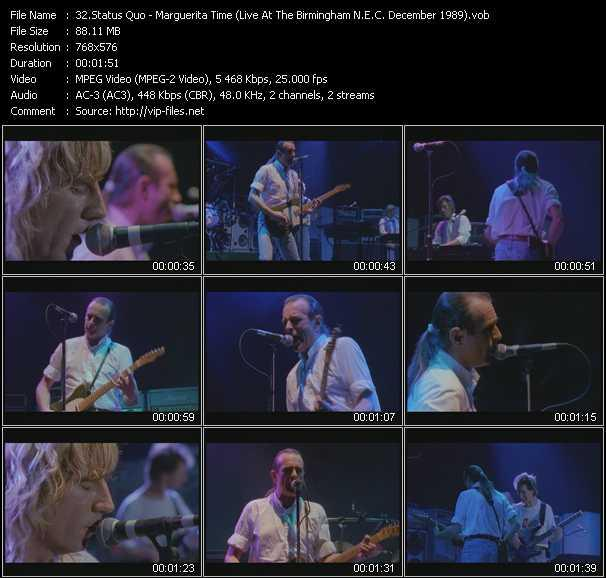 video Marguerita Time (Live At The Birmingham N.E.C. December 1989) screen