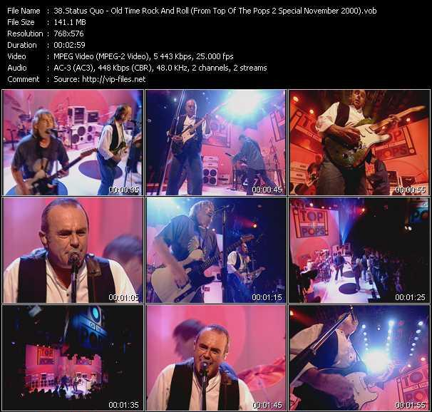 video Old Time Rock And Roll (From Top Of The Pops 2 Special November 2000) screen