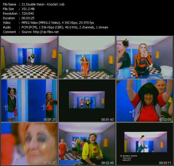 Double Vision video screenshot