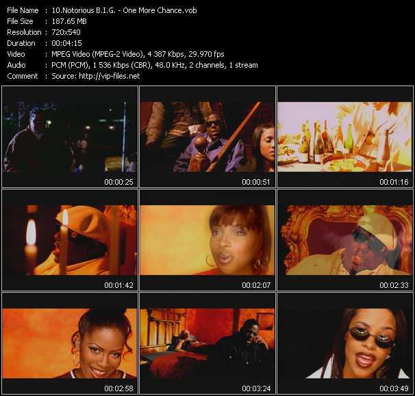 Notorious B.I.G. video screenshot