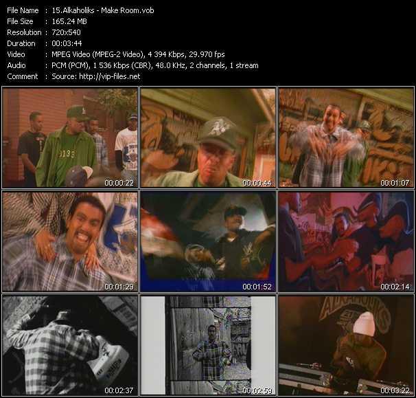 Alkaholiks video screenshot