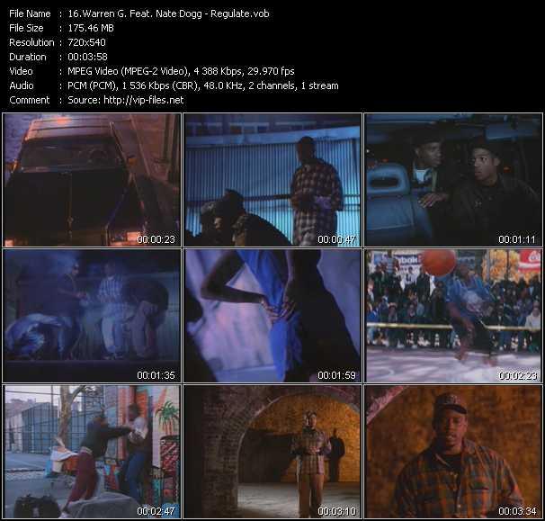 Warren G And Nate Dogg video screenshot