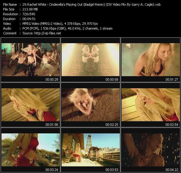 Rachel White video screenshot
