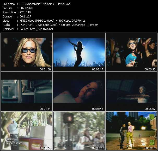 Anastacia - Melanie C - Jewel video screenshot