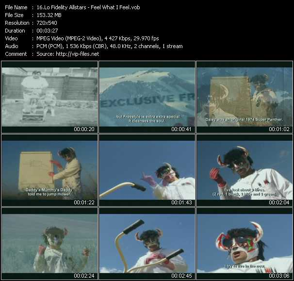 Lo Fidelity Allstars video screenshot