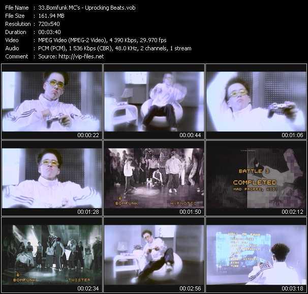 Bomfunk MC's video screenshot