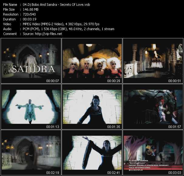 Dj Bobo And Sandra video screenshot