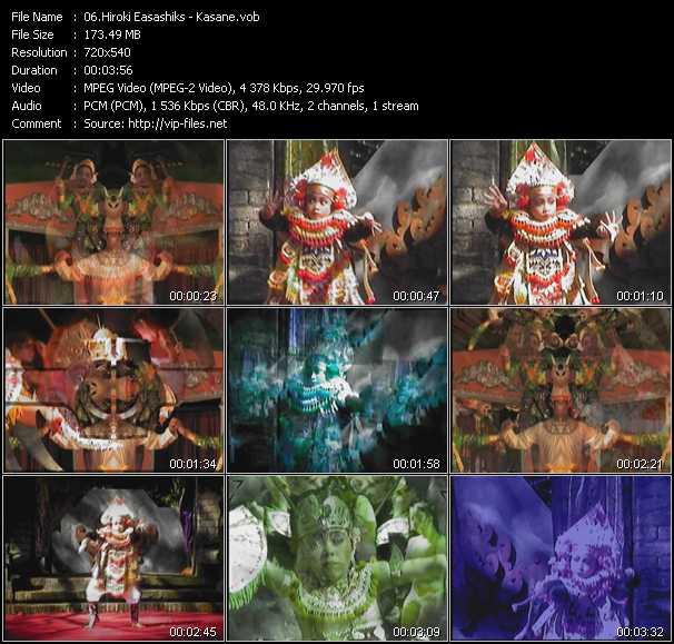 Hiroki Easashiks video screenshot