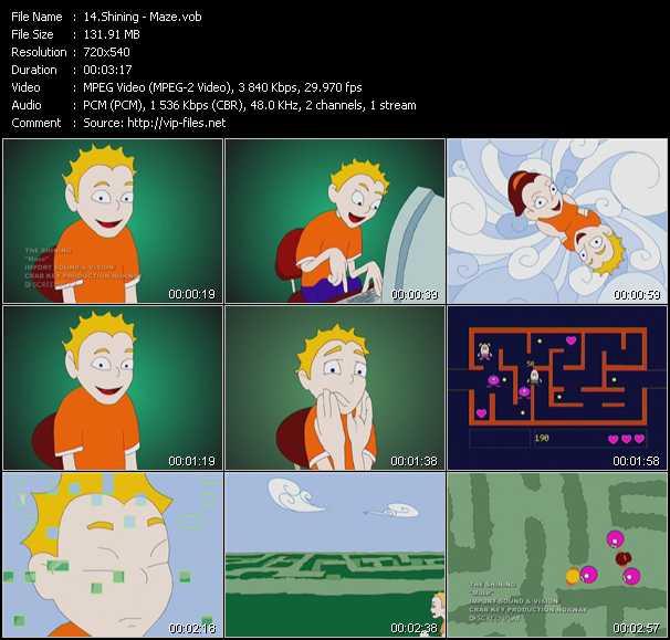 Shining video screenshot