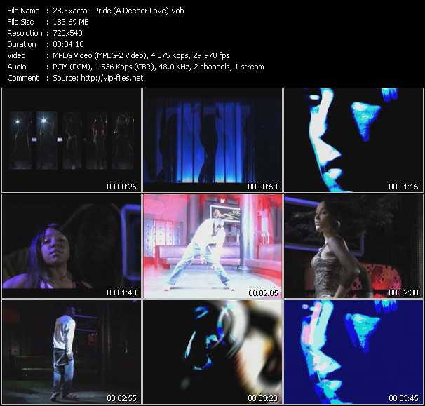 Exacta video screenshot
