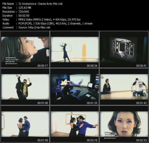 Kosmonova video screenshot