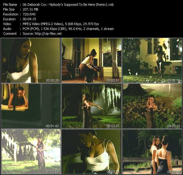Deborah Cox video screenshot