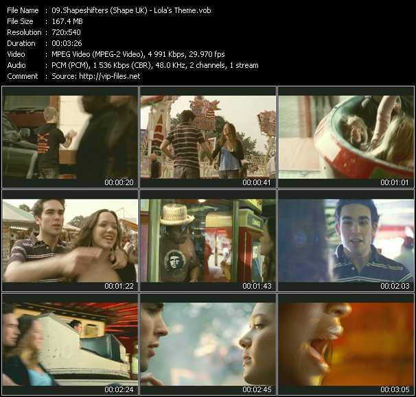 Shapeshifters (Shape: UK) video screenshot