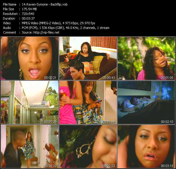 Raven-Symone video screenshot