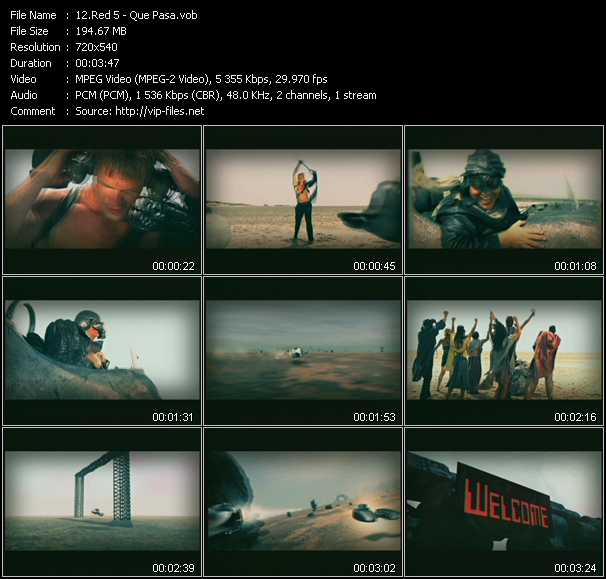 Red 5 video screenshot