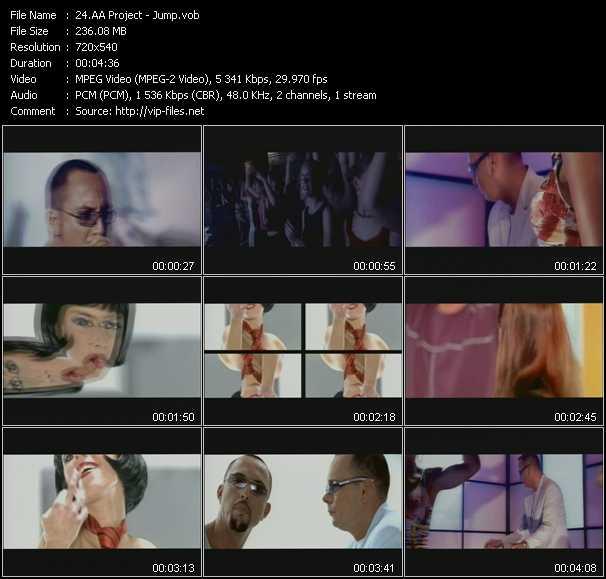 AA Project video screenshot