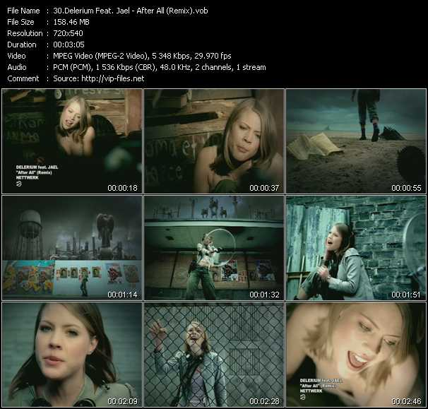 Delerium Feat. Jael video screenshot