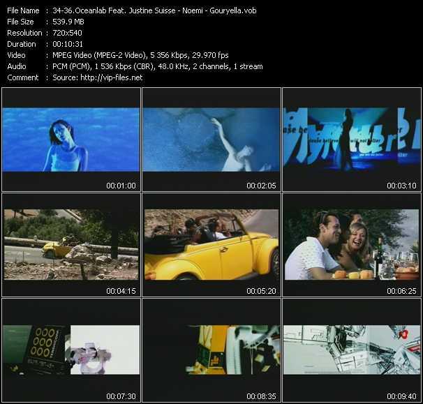 Oceanlab Feat. Justine Suisse - Noemi - Gouryella video screenshot