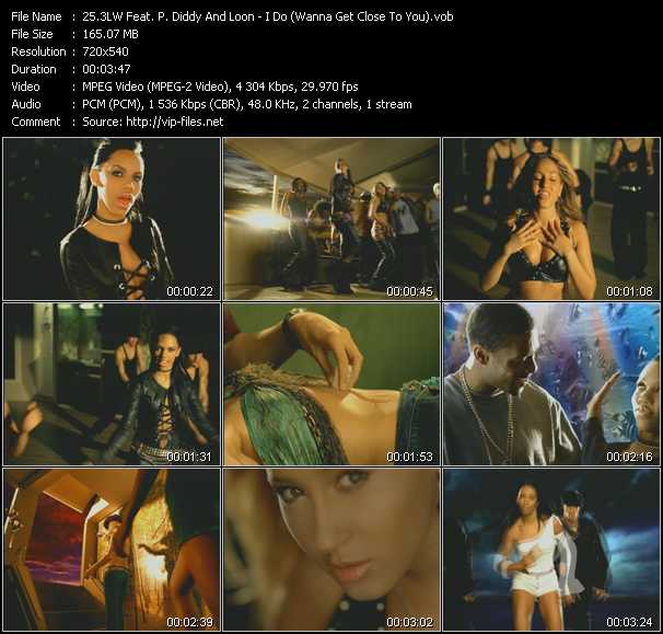 3LW Feat. P. Diddy (Puff Daddy) And Loon video screenshot