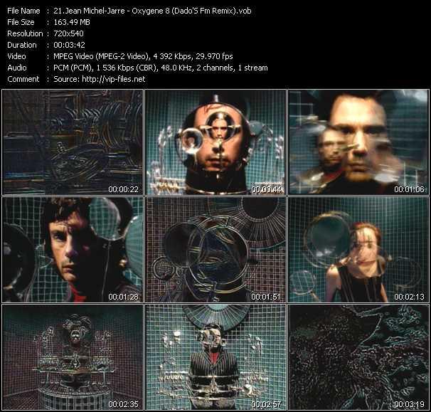 video Oxygene 8 (Dado'S Fm Remix) screen