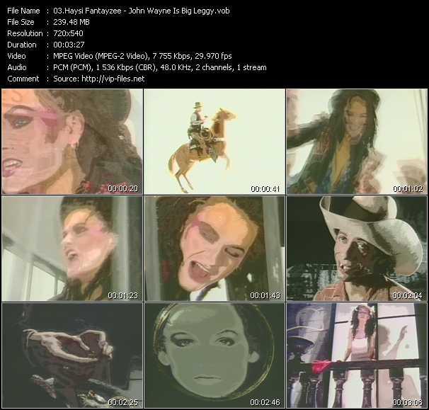Haysi Fantayzee video screenshot