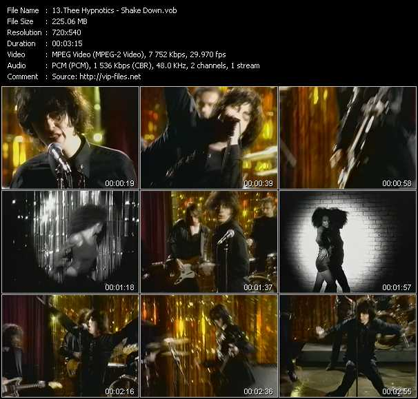 Thee Hypnotics video screenshot