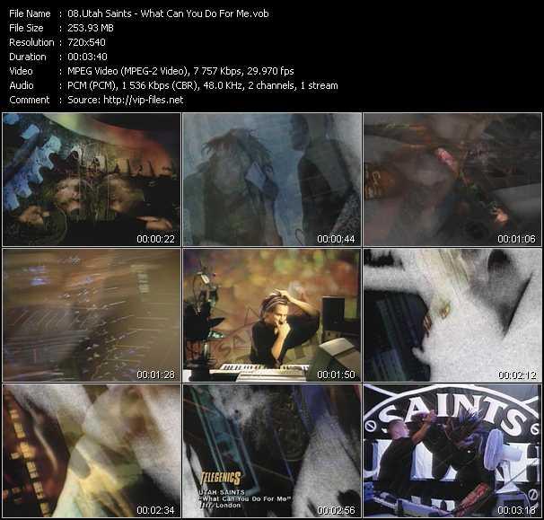 Utah Saints video screenshot