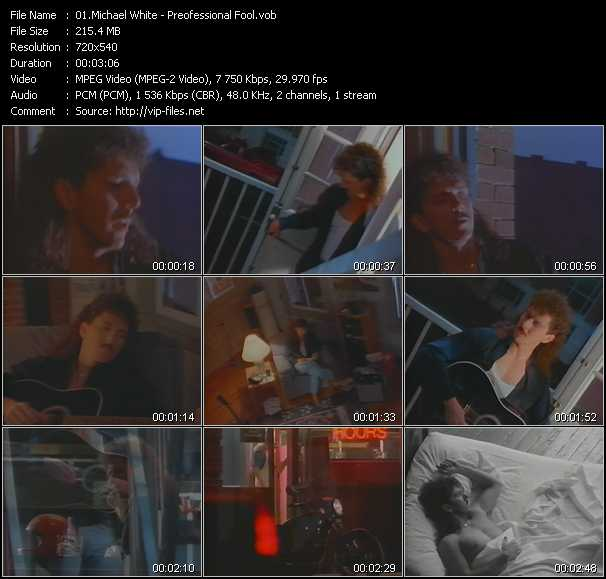 Michael White video screenshot