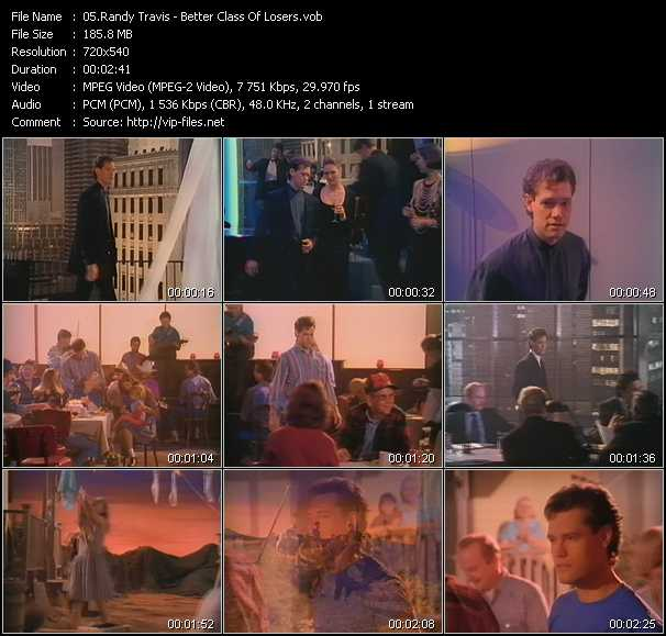 Randy Travis video screenshot