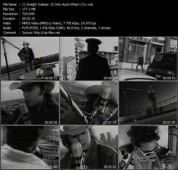 Dwight Yoakam video screenshot