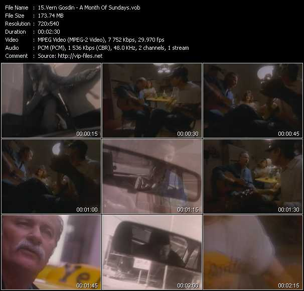 Vern Gosdin video screenshot