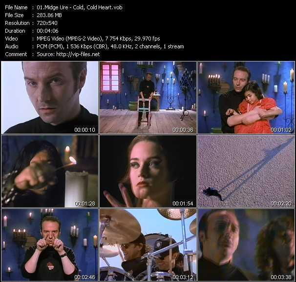 Midge Ure video screenshot