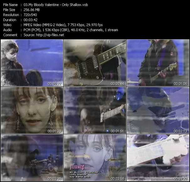 My Bloody Valentine video screenshot