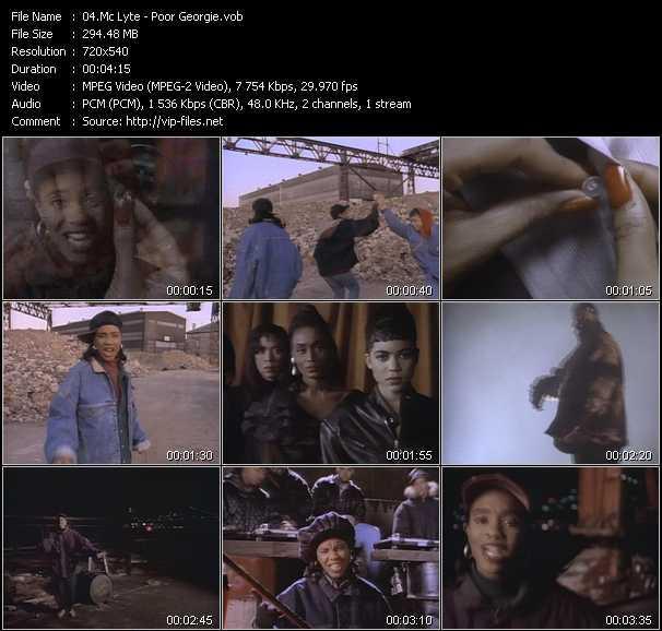 Mc Lyte video screenshot
