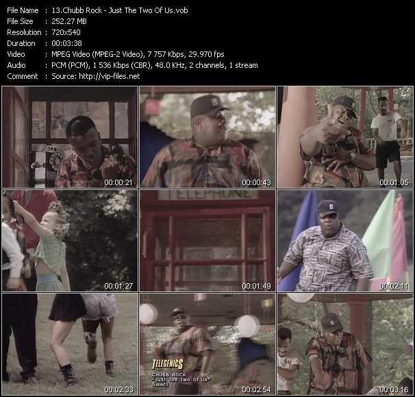 Chubb Rock video screenshot