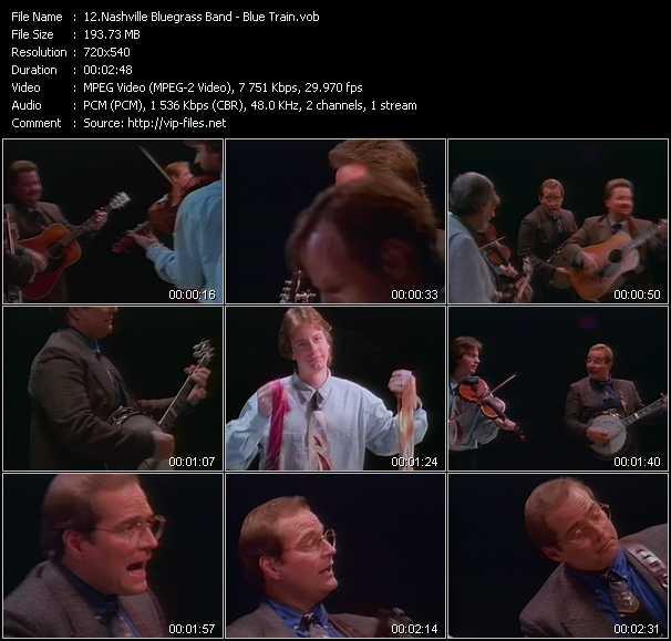 Nashville Bluegrass Band video screenshot