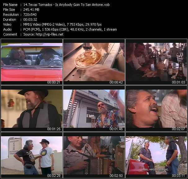 Texas Tornados video screenshot